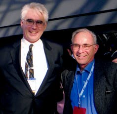 John Bergeron and Ron Cape standing side by side