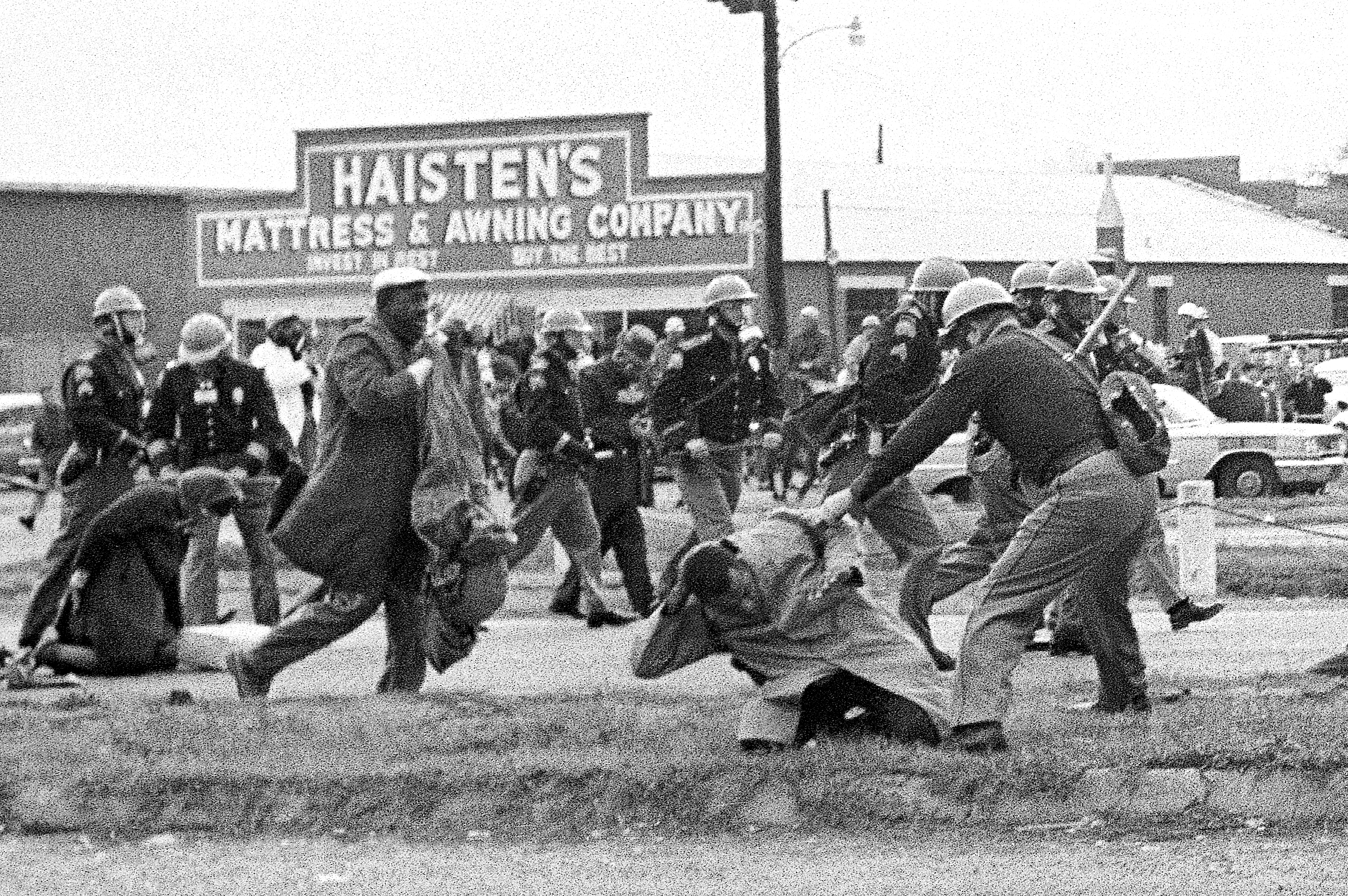 How the Images of John Lewis Being Beaten During 'Bloody Sunday' Went Viral