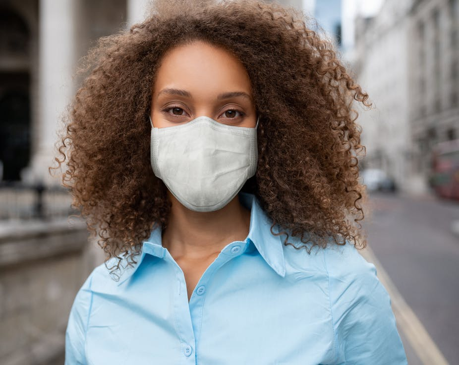 To wear a mask properly, make sure it covers your nose and mouth.
