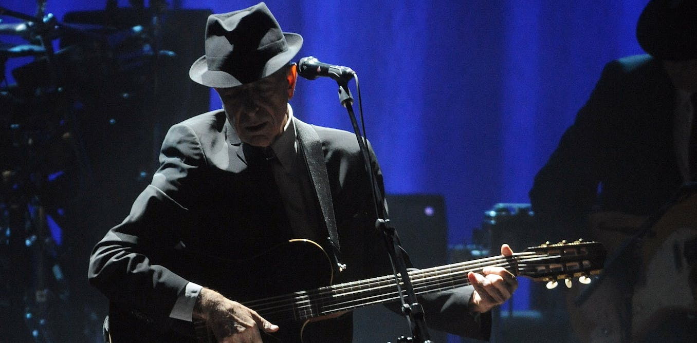 Listening to Songs of Leonard Cohen: singing sadness to sadness in these anxious times
