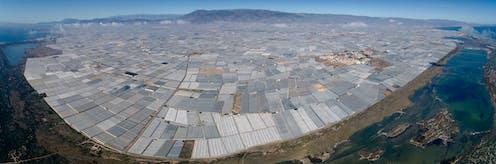 plástico agricultura Almería
