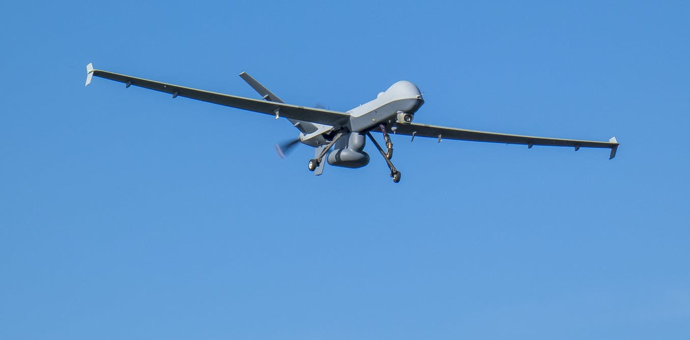 How to hide from a drone – the subtle art of 'ghosting' in the age of surveillance