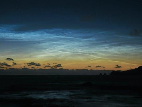 Clouds above Antarctica