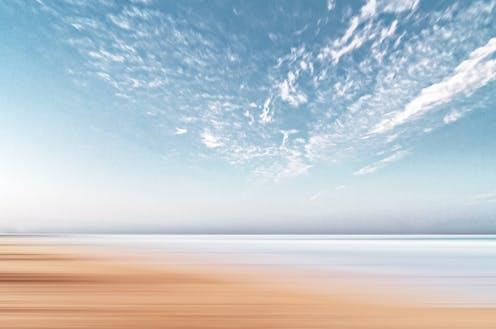 Ciel et plage