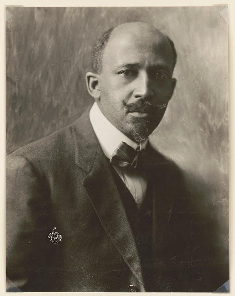 Portrait of NAACP leader W.E.B. Du Bois