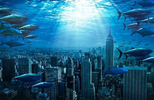 A city underwater