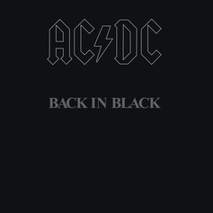 AC/DC Black in Black in text