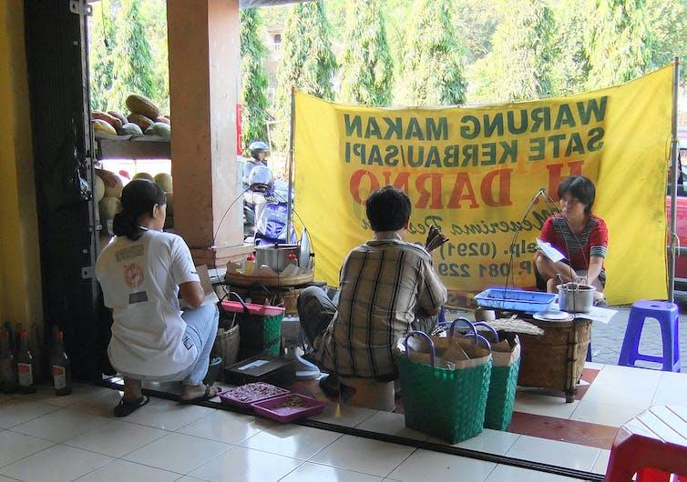 nourriture traditionnelle en Indonésie