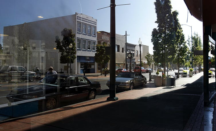 Downtown in Vallejo, California
