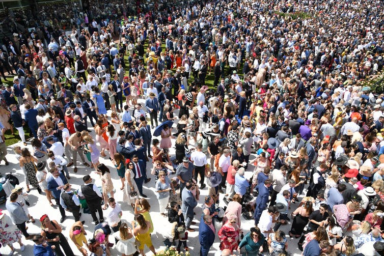 Friday essay: make some noise — the (forbidden) joy of crowds