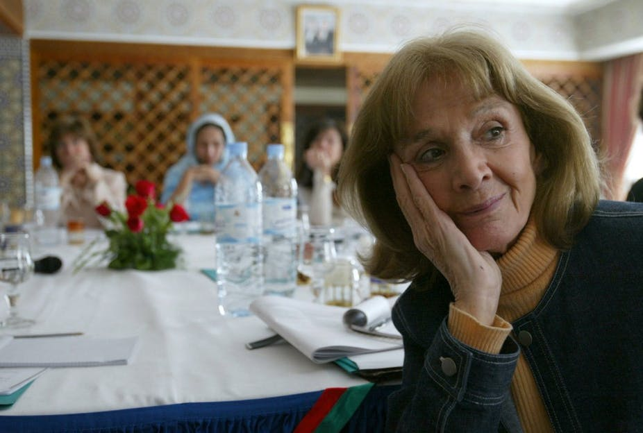 Gisèle Halimi à Fès