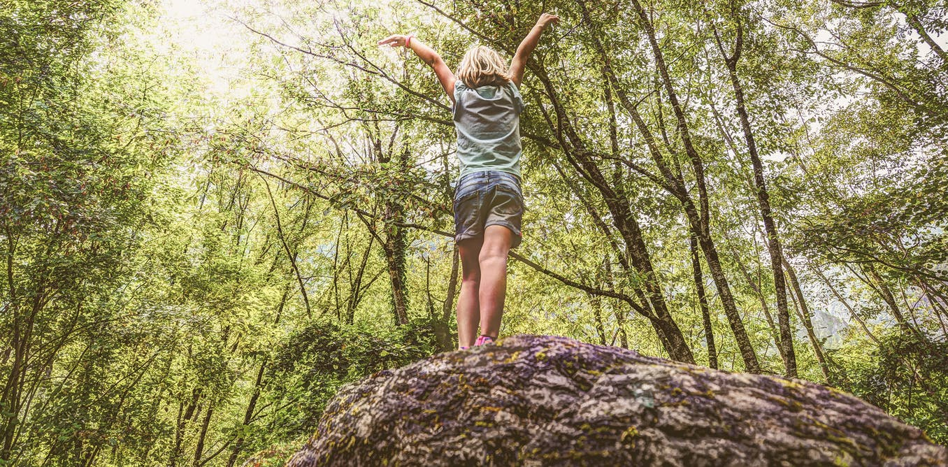 Muddy knees and climbing trees: how a summer playing outdoors can help children recharge