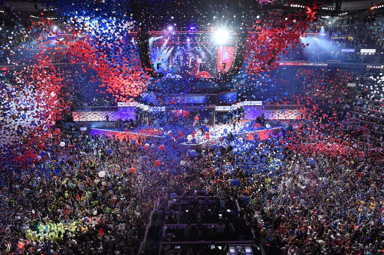 Political conventions today are for partying and pageantry, not picking nominees