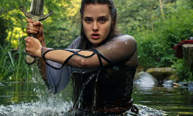 Nimue is a young sorceress in the latest retelling of the Arthurian legend.