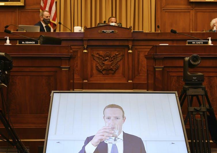 Big Tech companies testify in congress
