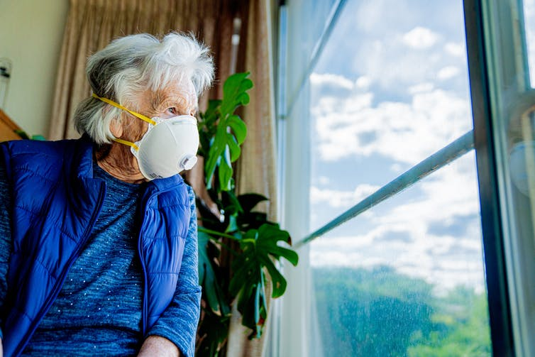 Social isolation, difficult for anyone, is particularly hard on the elderly.