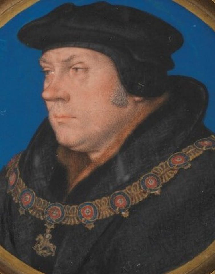 Portrait of Thomas Cromwell.