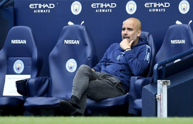 Directeur de Manchester City Pep Guardiola.