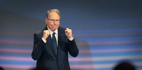 Wayne LaPierre, NRA vice president and CEO attends the NRA annual meeting of members at the 148th NRA Annual Meetings & Exhibits on April 27, 2019 in Indianapolis, Indiana.
