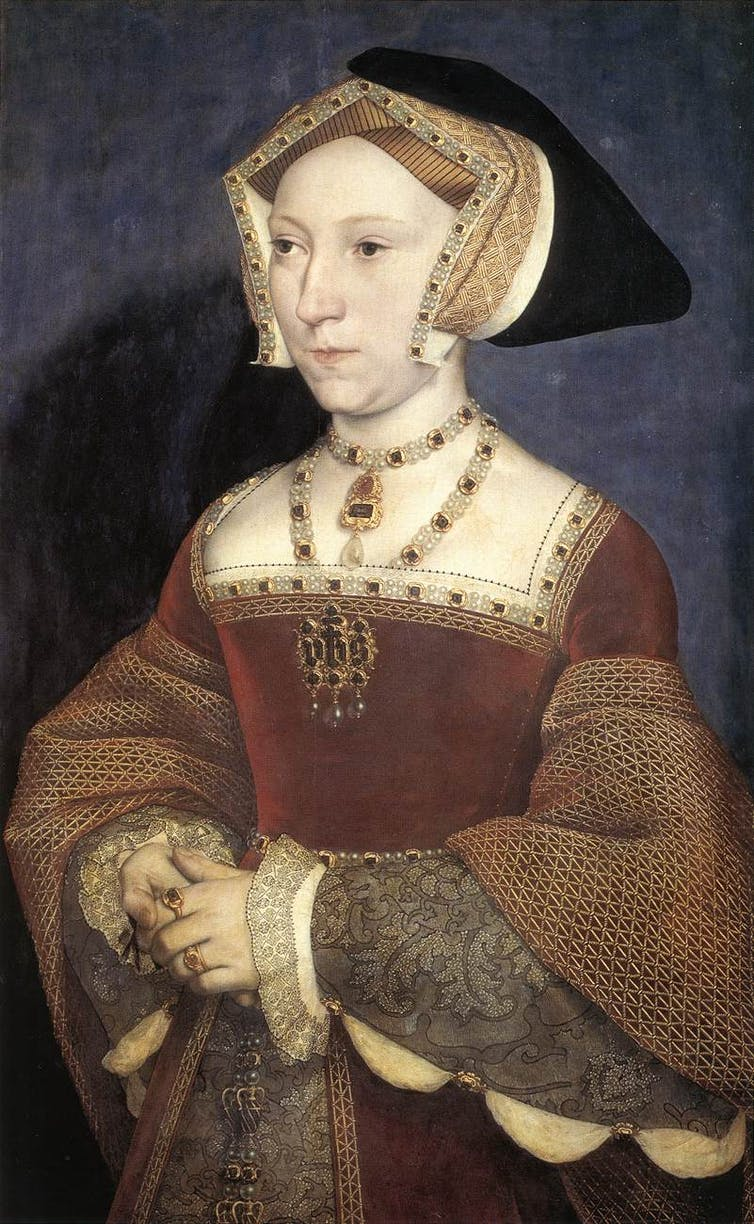 Portrait of Jane Seymour from 1536.