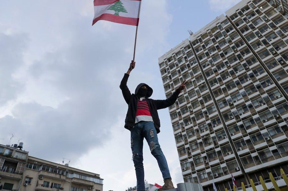 Manifestations à Beyrouth janvier 2020