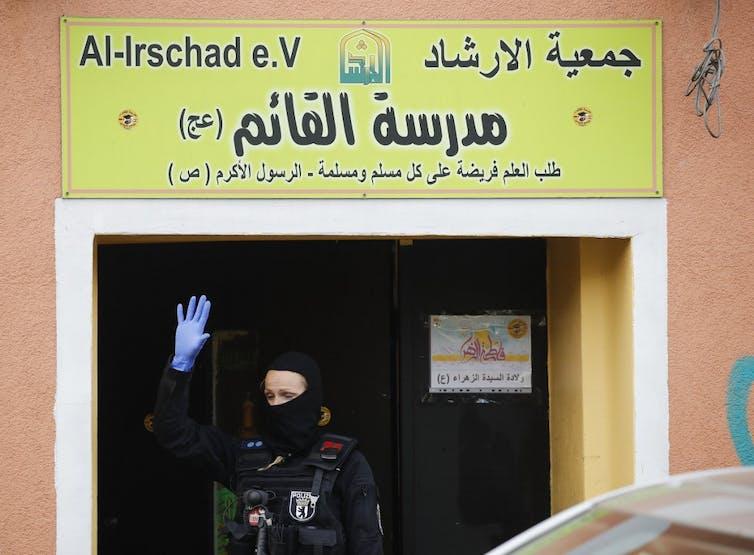 Raid policier à Berlin sur la mosqué Al-Irschad le 30avril 2020