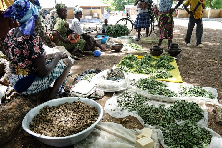 A market in northern Ghana in 2012