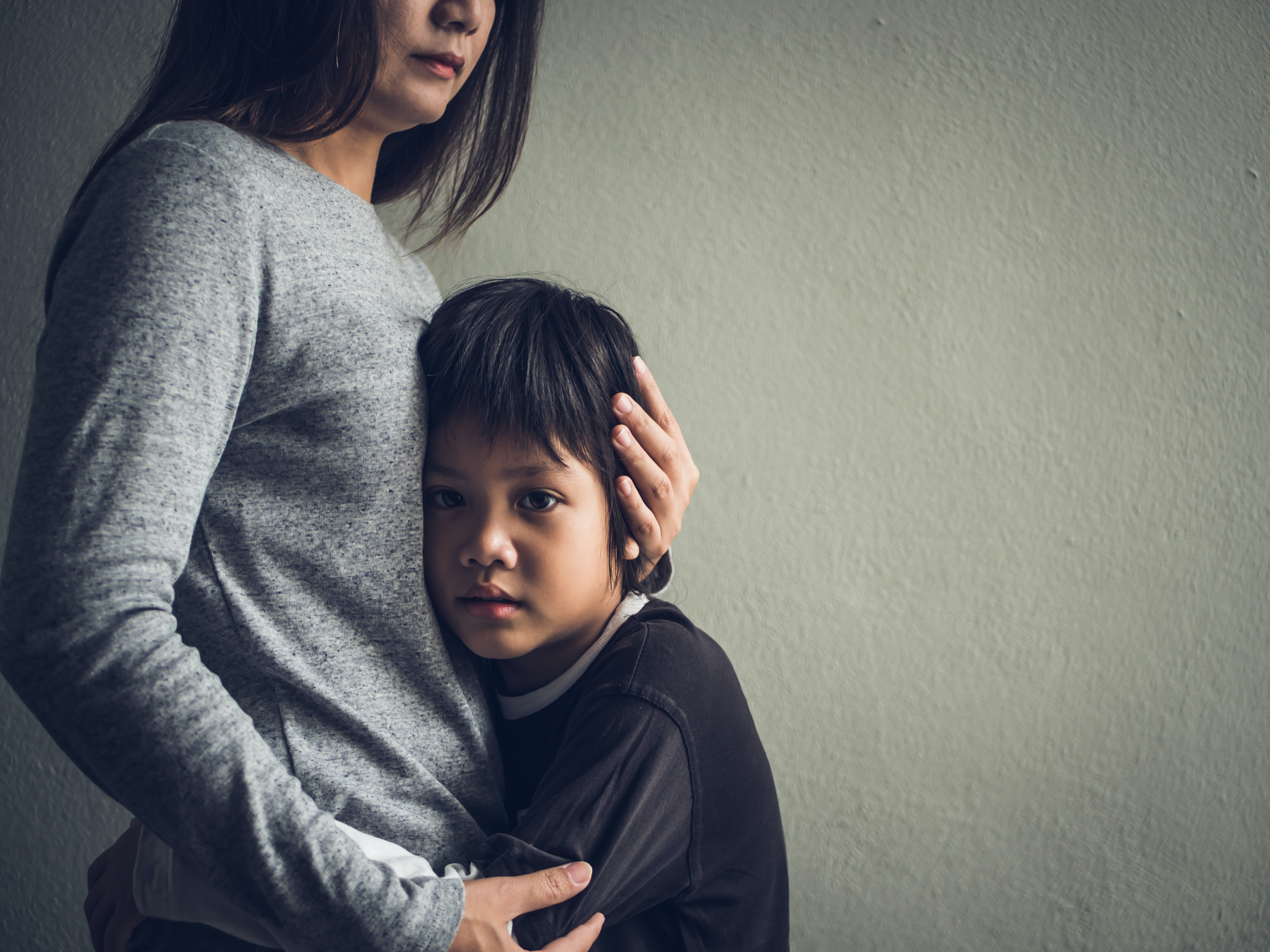 Addressing parental mental illness not only helps the parent, but also mitigates harmful effects on child health. (Shutterstock)