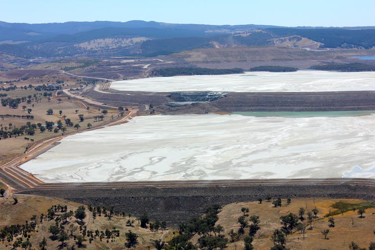 The Cadia gold mine in western NSW