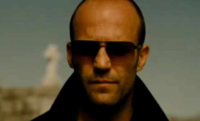 Jason Statham looking mean in The Mechanic