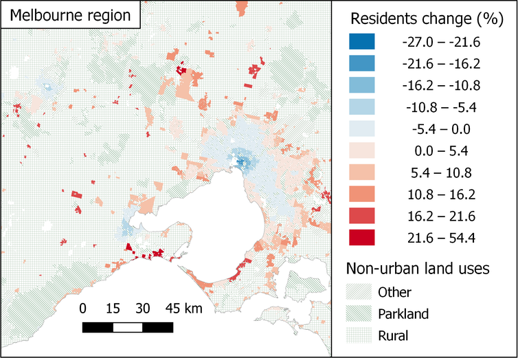 More urban sprawl while jobs cluster: working from home will reshape the nation