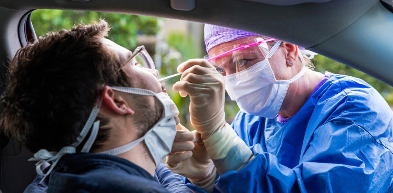 Goodbye, brain scrapers. COVID-19 tests now use gentler nose swabs