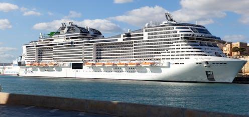Cruise liner MSC Grandiosa