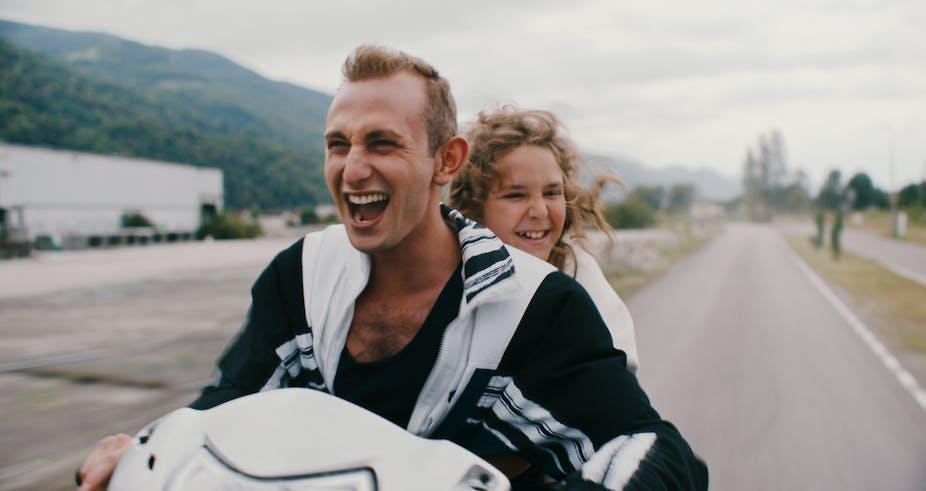 Andrea Maggiulli, Kacey Mottet Klein, acteurs interprétant deux orphelins dans Just Kids,