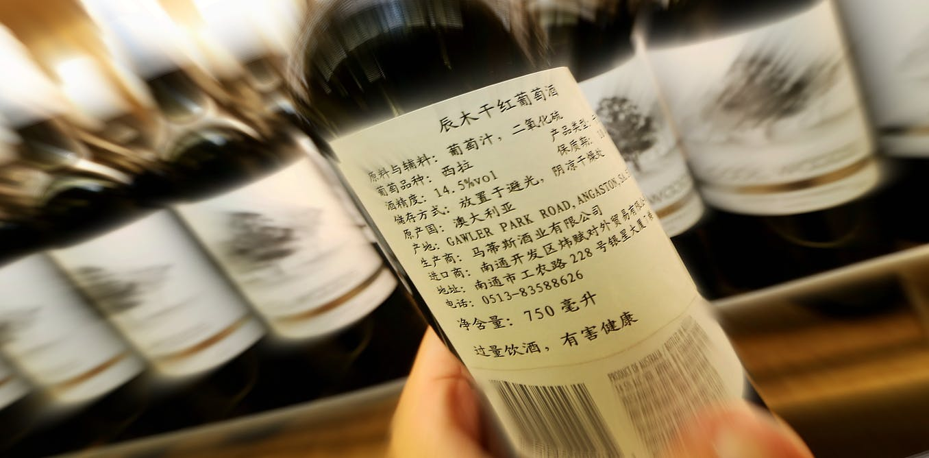 Its hard to tell why China is targeting Australian wine. There are two possibilities