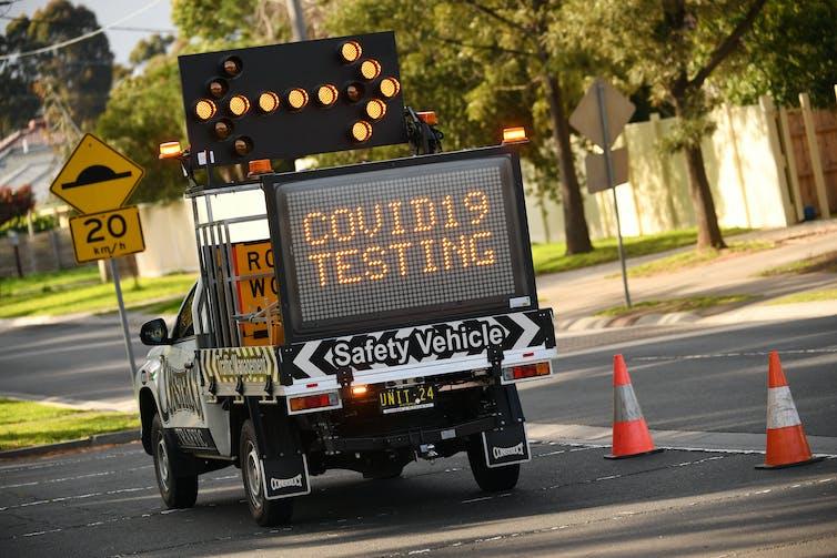 COVID19 testing in Melbourne.
