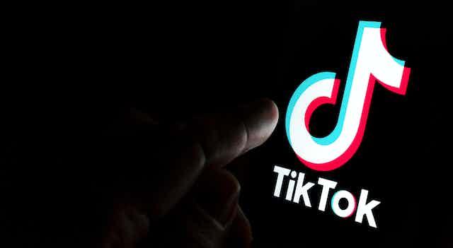 logotipo de la aplicación Tiktok