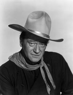 Actor John Wayne