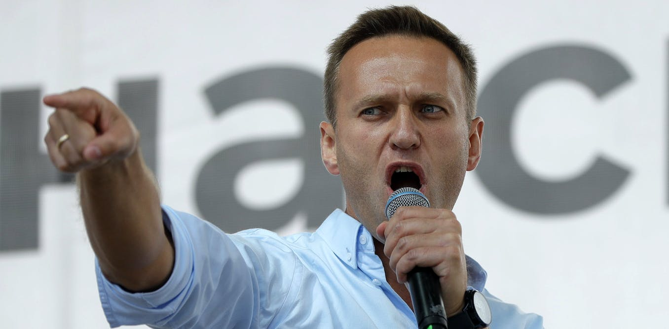 What is the chemical agent that was reportedly used to poison Russian politician Alexei Navalny?