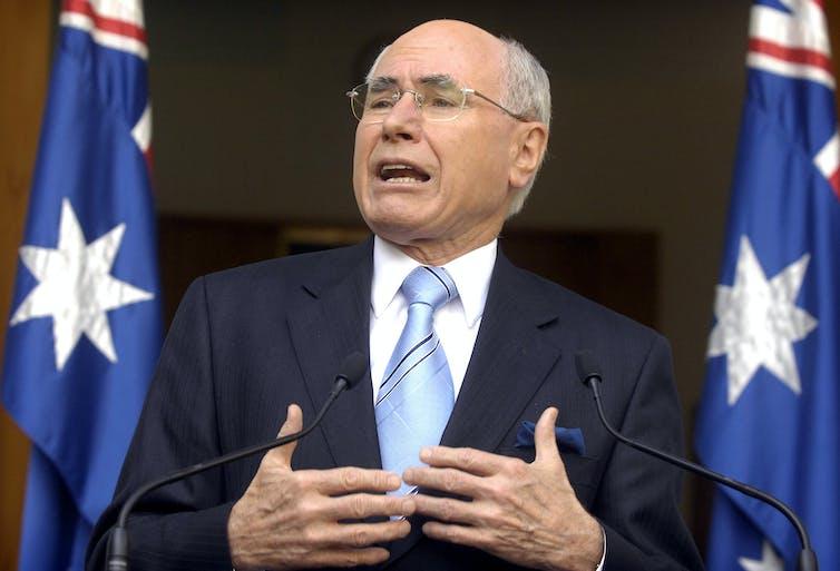 Former Prime Minister John Howard