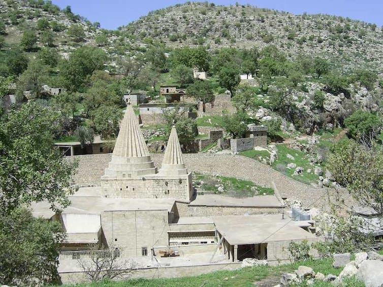 Temple yezidi de Lalish