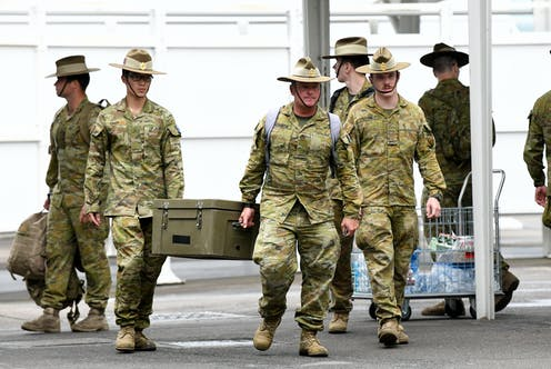 ADF forces
