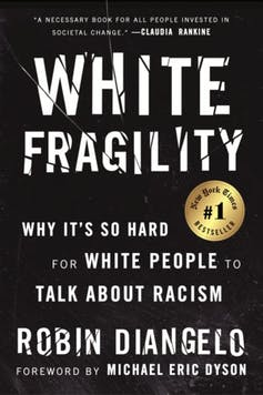 book cover of 'White Fragility: Why it's so Hard for White People to Talk About Racism'