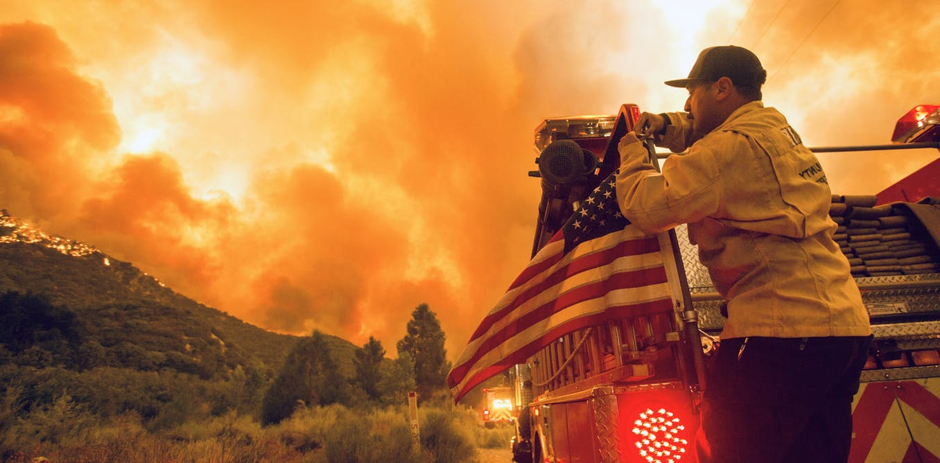 California is on fire. From across the Pacific, Australians watch on and buckle up