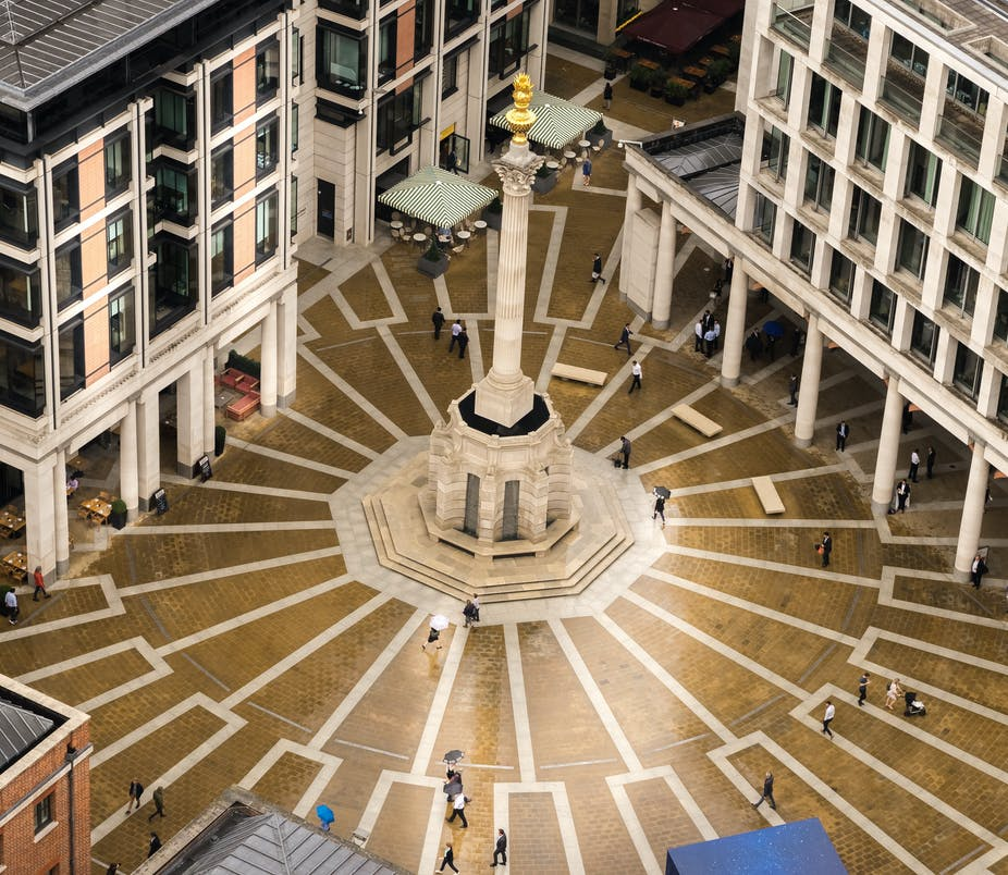 London Stock Exchange at Paternoster Square