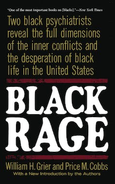 The jacket cover of Black Rage.