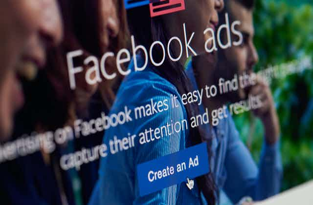 Screenshot of a Facebook Ads page
