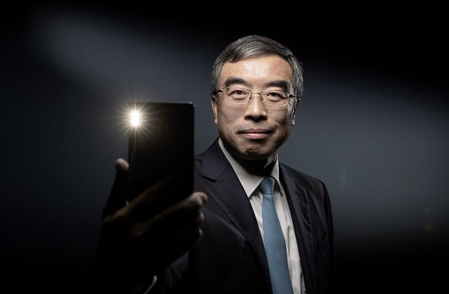 Liang Hua, PdG de Huawei
