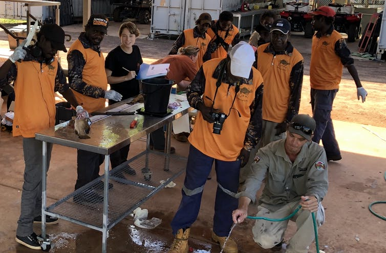 School of fish: how we involved Indigenous students in our investigation of a 65,000-year-old site