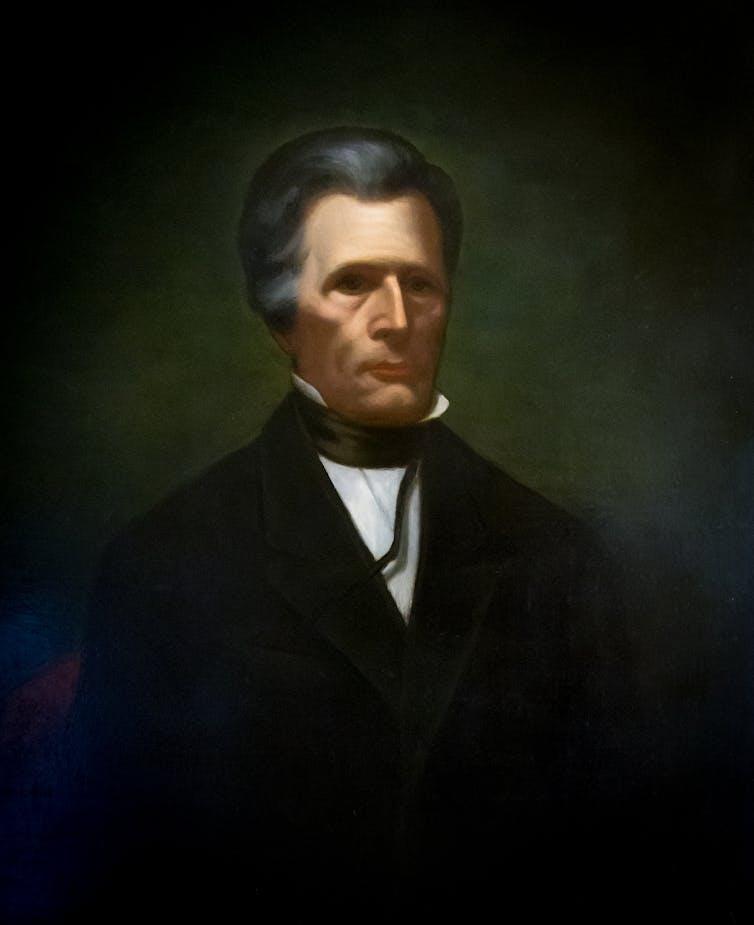 Portrait of Rhode Island Gov. Samuel Ward King
